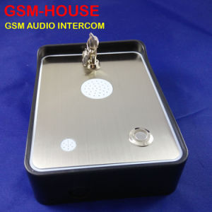 Audio GSM Door Intercom for Family Gate Access Control with Two Alarm Input