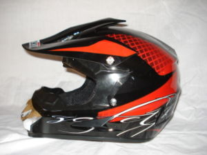 Hot Selling DOT/ECE Cross Half Face Helmets Full Helmets (HAL-169D)