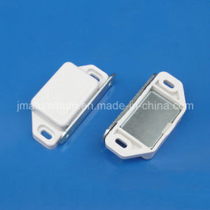 Practical Plastic Cabinet Cupboard Door Magnetic White Latch Catch pictures & photos
