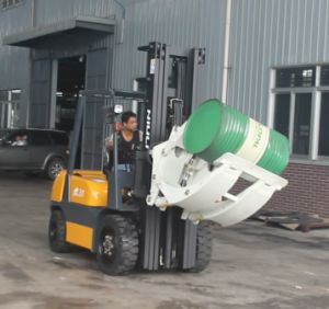 360 Degree Steel Hydraulic Forklift Attachment Clamp Rotator pictures & photos