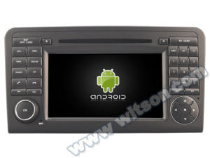 Witson Android 5.1 Special Car DVD for Mercedes-Benz Ml 320/Ml 350/ W164 with Chipset 1080P 16g ROM WiFi 3G Internet DVR Support (A5558) pictures & photos