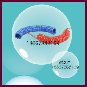 15m 8mm Blue Plastic PU Spiral Hose pictures & photos