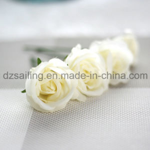 Sweet Rose Bouquet Artificial Flower Used for DIY and Decoration (SW99002) pictures & photos