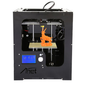 2017 New! Anet A3 Smart LCD Touch 0.1mm Precision Portable 3D Printer pictures & photos