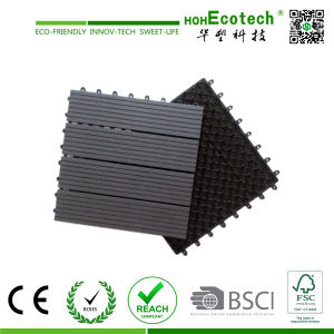 Recycled Material Waterproof WPC Interlocking Tiles pictures & photos