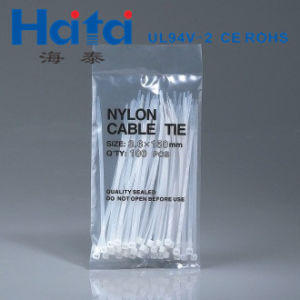Wire Management UL Approved Nylon 66 Push Mount Cable Tie pictures & photos