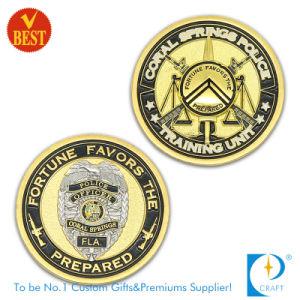 Manufacturer Custom 3D Logo Zinc Alloy Souvenir Gold Metal Challenge Coin Silver Antique Military Navy Diamond Edge Commemorative Coins for Promotional Gift pictures & photos