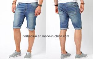 Custom Mens Classical Denim Shorts pictures & photos