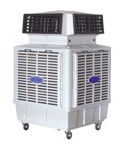 Chile Machine Summer Cooling Energy Saving Evaporative Air Cooler with Air Duct pictures & photos