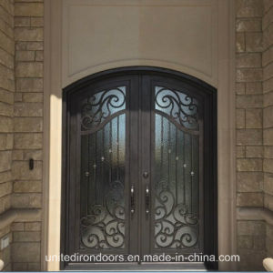 Made in China Eyebrow Top Iron Door (UID-D064) pictures & photos