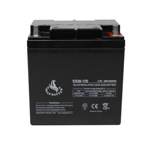 12V 28ah VRLA Rechargeable Lead Acid Battery