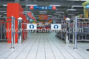 Supermarket Gate, Automatic Gate, Swing Gate, Sliding Gate, Turnstile Door pictures & photos