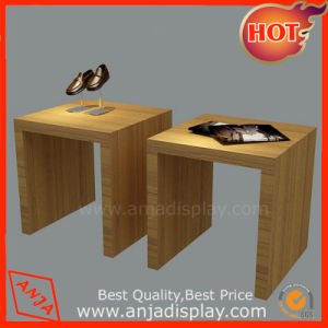 Wooden Display Table Melamine Display Stand pictures & photos