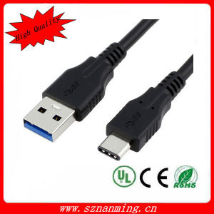 USB 3.0 3.1 Type C Male Connector to a Female OTG Data Cable pictures & photos