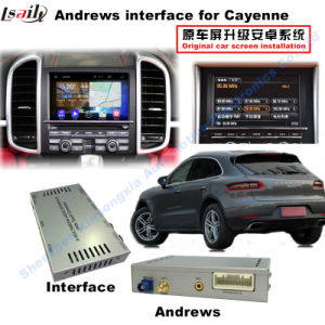 (10-15) HD Multimedia Android Interface GPS Navigation Box for Porsche-Cayenne Support WiFi/Bt/Mirrorlink pictures & photos
