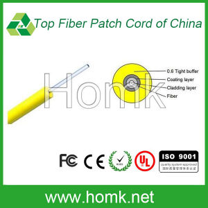 Indoor Fiber Cable (0.6mm Tight Buffer Cable GJFJV) pictures & photos