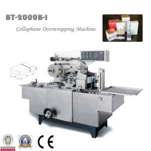 Bt-2000b-I Cellophane Overwrapping Machine with Gold Tear Tape pictures & photos