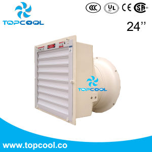 """24"""" FRP Exhaust Fan with PVC Shutter for Livestock with Amca Test Report pictures & photos"""