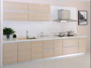 Construction Project Fitted Kitchen Cabinets with Flat Pakage pictures & photos