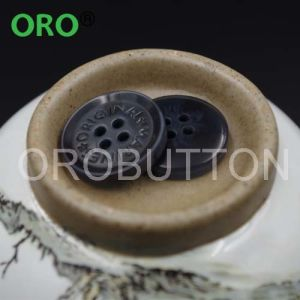 18L UV Plating Resin Button for Shirt