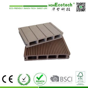 Hollow WPC Composite Decking, Water-Proof Outdoor WPC Decking pictures & photos