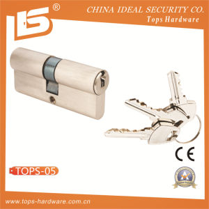 Brass Normal Key Lock Cylinder (TOPS-5) pictures & photos