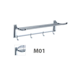 High Quality Stainless Steel Bathroom Accessories Towel Rack (M01) pictures & photos