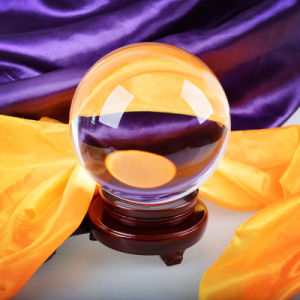 Solid Crystal Ball Home Decor Centerpiece Clear Glass Ball Craft Wholesale pictures & photos