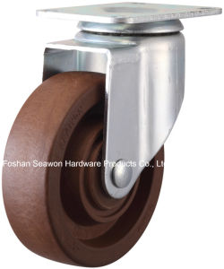 High Temperature 280 Degree Swivel Caster (Brown) pictures & photos