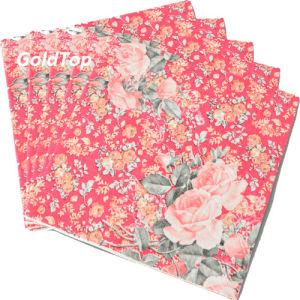 25*25cm 2 Ply Paper Dinner Napkins Party Supplies pictures & photos