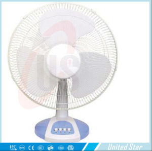 12′′ 16′′ Cooling Exhuast Plastic Table Fan for House Use pictures & photos