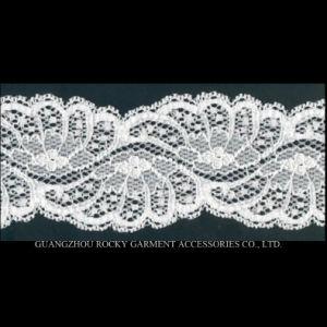 Hot Sales 2017 Spandex Elastic Lace Trimming Nylon Lace pictures & photos