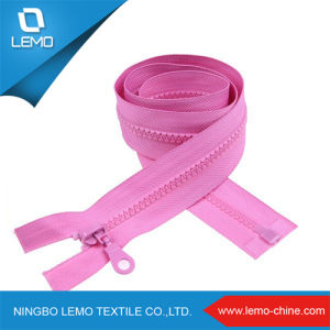 Wholesale Plastic Zipper with Big Slider pictures & photos