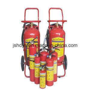 50kg Wheeled Dye Power Fire Extinguisher (GB8109-2005)