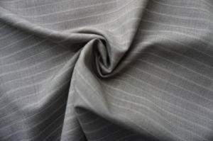 Strip Pure Wool Fabric for Suiting pictures & photos