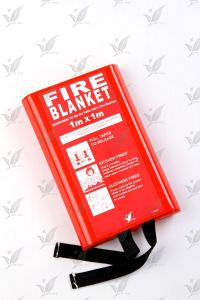 En1869 Certificate Fire Blanket with Silicon Coating pictures & photos