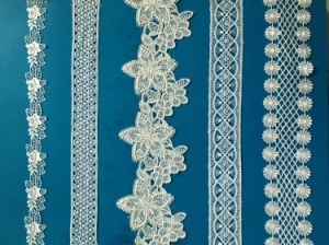 Fashion Wedding Lace Chemicaled African Guipure Lace Fabric Water Soluble Embroidery Lace pictures & photos