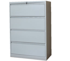 4 Drawer Lateral Filing Cabinet Cmax-Fd04-001 pictures & photos