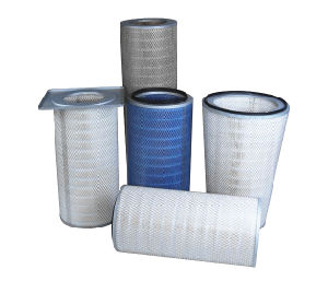 Pleated Air Cartridge Filter Gas Turbine Filter pictures & photos
