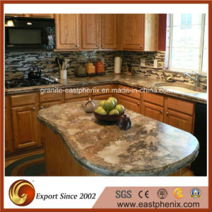 Wholesale Natural Black Granite Kitchen/Bathroom Countertop pictures & photos
