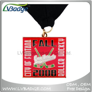 Supply Custom Metal Sport Medal with Sublimation Lanyard pictures & photos