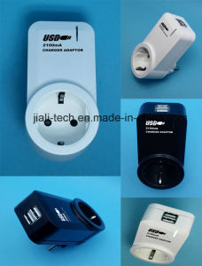 USB Charger Adaptor with Socket pictures & photos