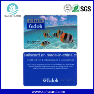 Cr80 Plastic Card with M Plus 2k/4k Chip pictures & photos