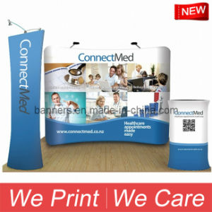 Curved Tension Fabric Trade Show Displays pictures & photos