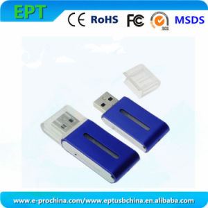 Customized Logo Blue Pen Drive USB Flash Drive for Promotion (ET008) pictures & photos