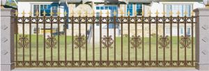 Galvanzied Europe Style Wrought Iron Fencing/Wrought Iron Fence pictures & photos