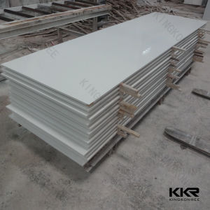 12mm Hot Selling Pure White Acrylic Sheets Solid Surface pictures & photos