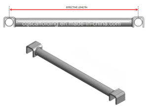 Ringlock System Intermediate Transom for Building Material (RLT124)