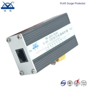 Aluminum Alloy Ethernet Network Gigabit 1000m RJ45 Surge Protector pictures & photos