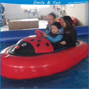 Inflatable Bumper Boat Powred by Battery 12V 33ah for 1-2 Kids with FRP Body and PVC Tarpaulin Tube pictures & photos